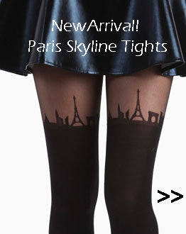 Paris Skyline Tights
