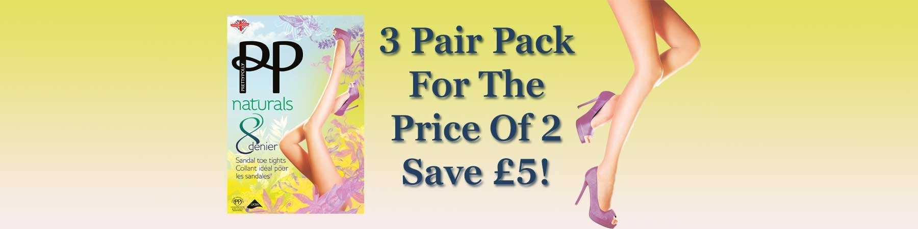 Pretty Polly 3 for 2 Offer