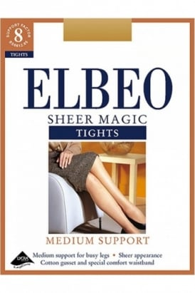 Elbeo Sheer Magic Support Tights XL Size