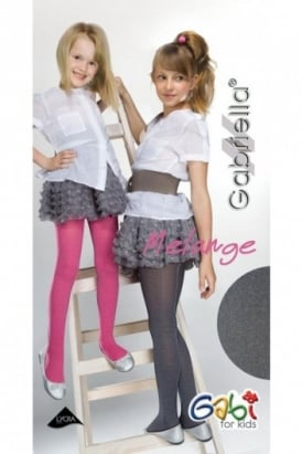 Gabriella Melange Childrens Tights