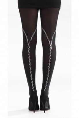 Pamela Mann Backseam Zip Tights