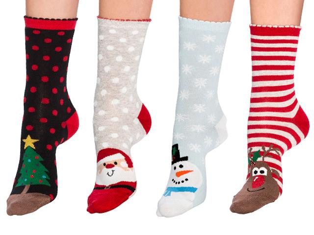 82b5eec12 Christmas Tree Ankle Socks