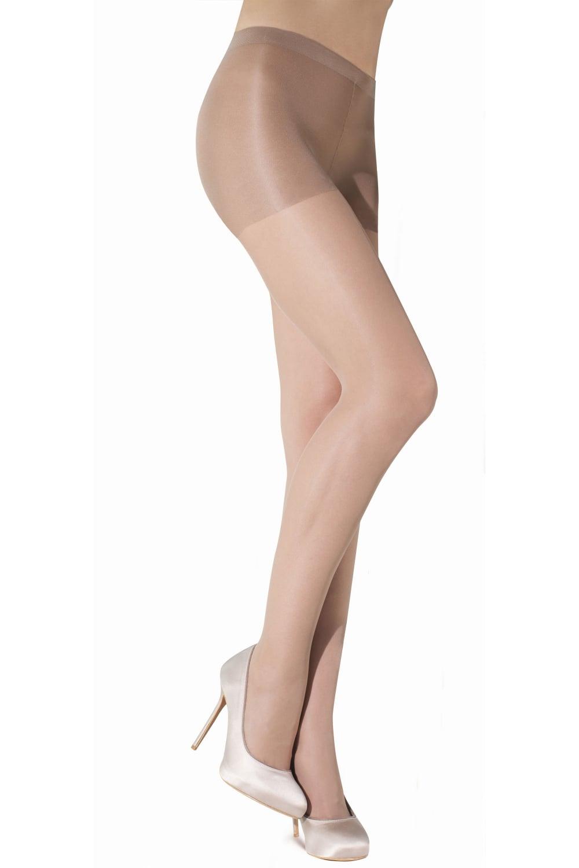 Ex Chain Store Small to Medium Size Shine /& Sheer 15 Denier Hold Ups Stockings