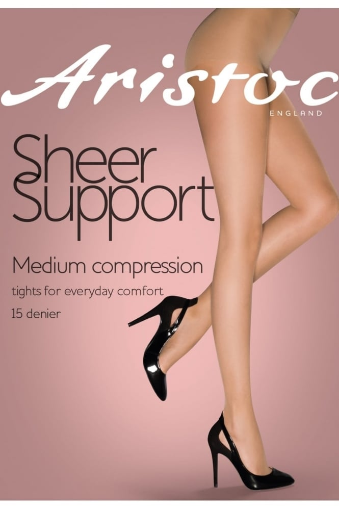 Aristoc Sheer Support Medium Compression Tights