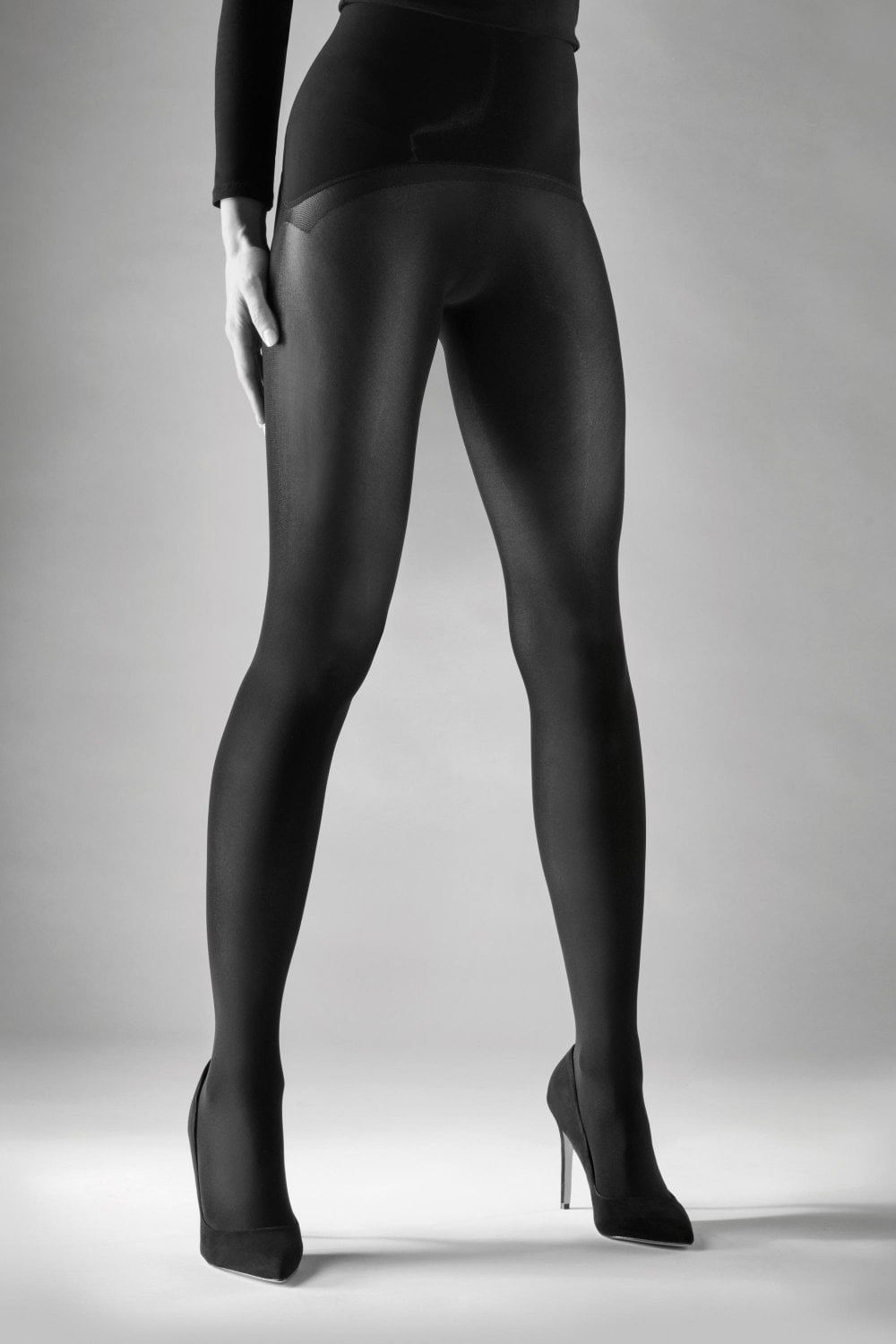 extra small size only Royal Blue Opaque Tights by Flirt 50 Denier