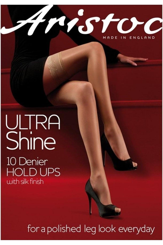 66825a0096e Aristoc Ultra Shine 10 Denier Hold Ups