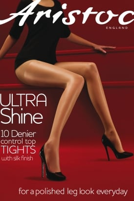 Ultra Shine Control Top Tights