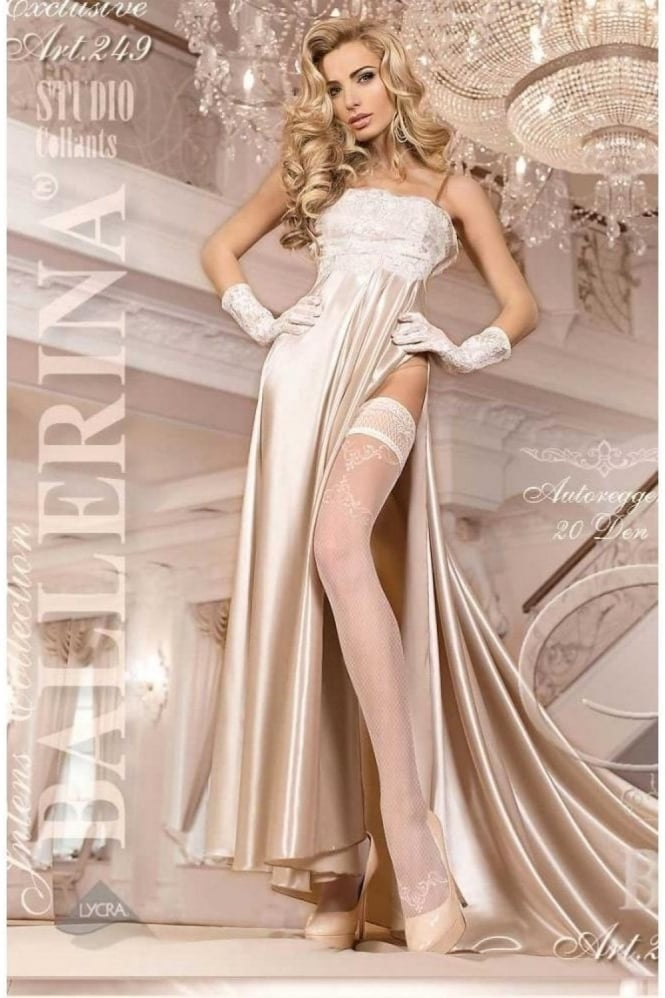 Ballerina 249 Bridal Hold Ups