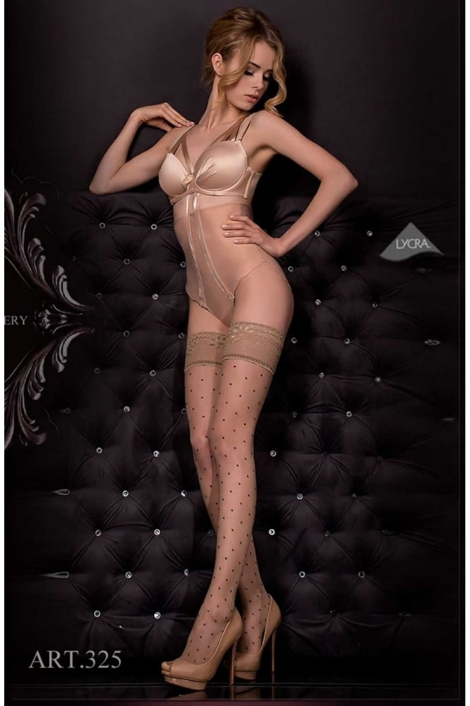 Ballerina 325 Sheer Dots Fashion Hold Ups
