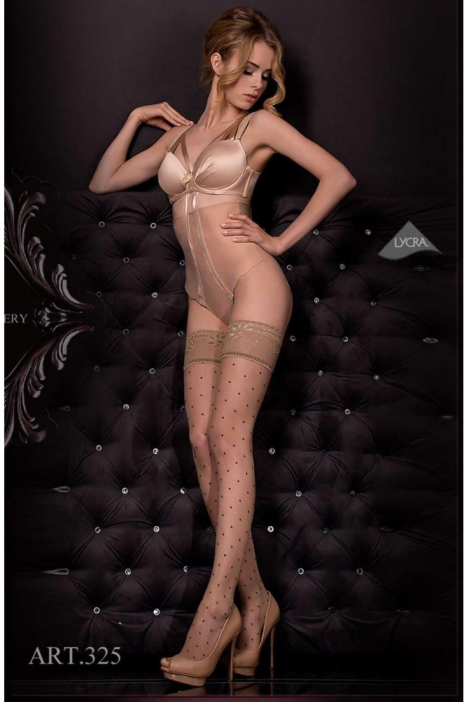 346161bf2a7 325 Sheer Dots Fashion Hold Ups by Ballerina