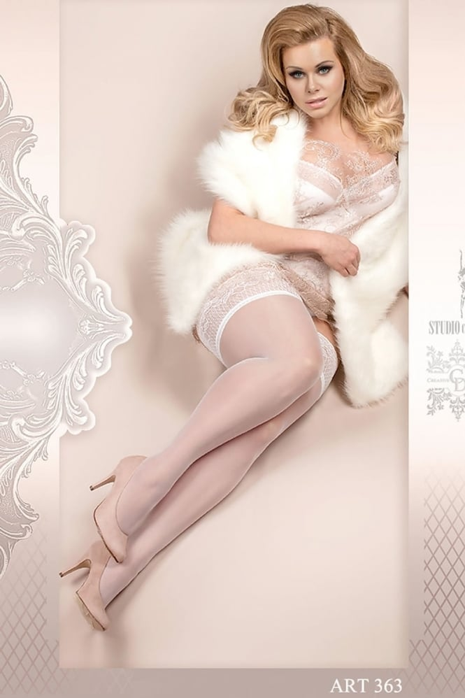 Ballerina 363 Plus Size Sheer Hold Ups
