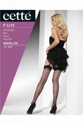 Berlin 15 Denier Seamed Stocking