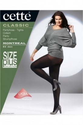 Montreal 60 Denier Plus Size Tights