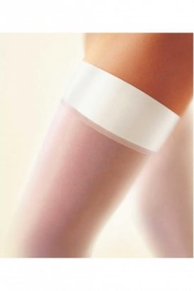 Bridal Satin Band Hold Ups