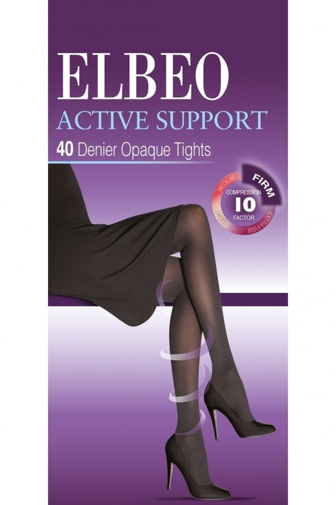 Elbeo Active Support Firm Compression 40 Denier Tights