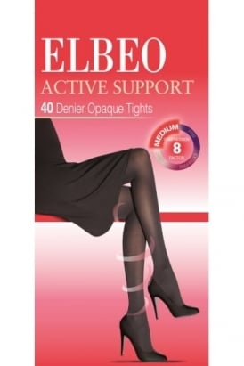 Active Support Medium Compression 40 Denier Tights