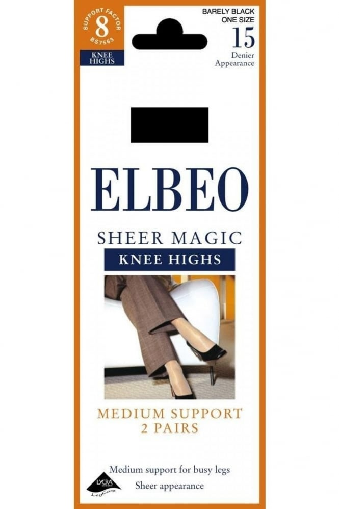 Elbeo Sheer Magic Knee High's