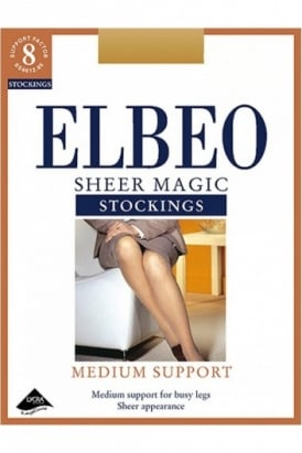 Sheer Magic Medium Support Stockings