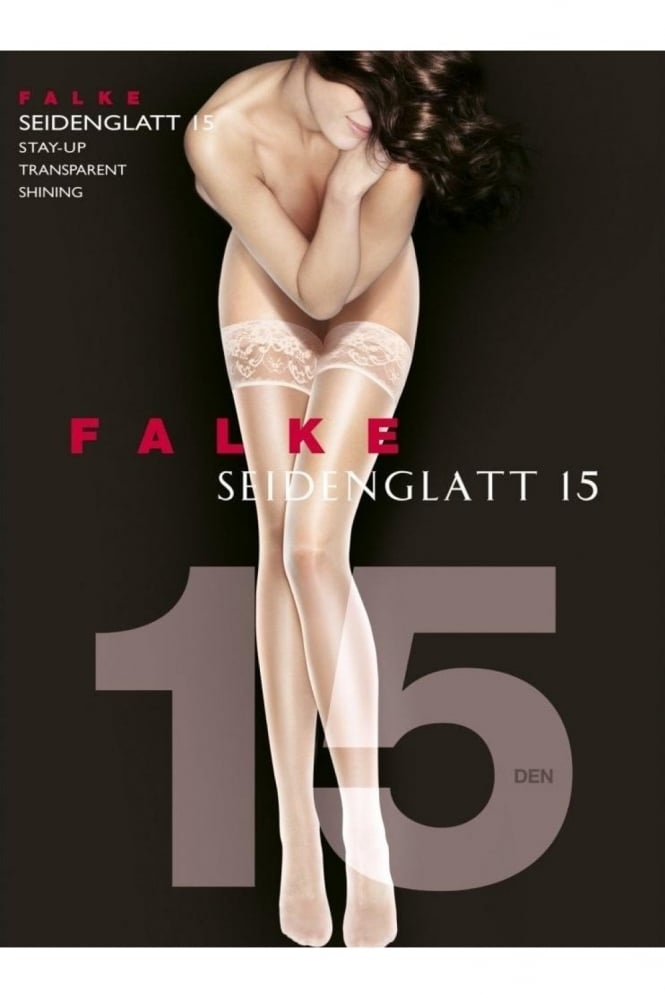 Falke Seidenglatt 15 Denier Transparent Hold Ups