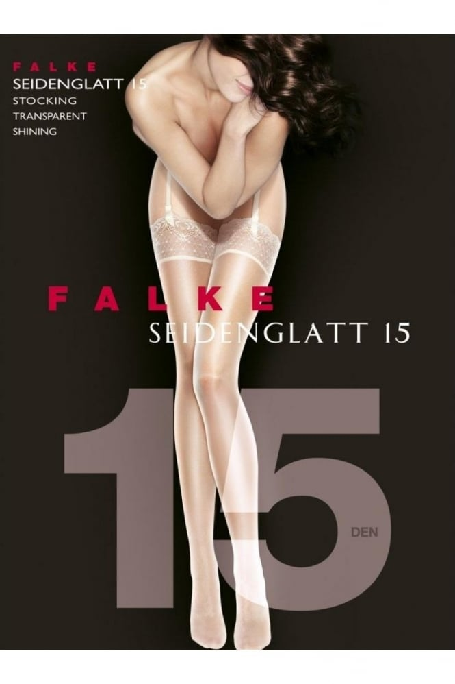 Falke Seidenglatt 15 Denier Transparent Stockings