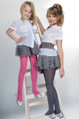 Melange Childrens Tights