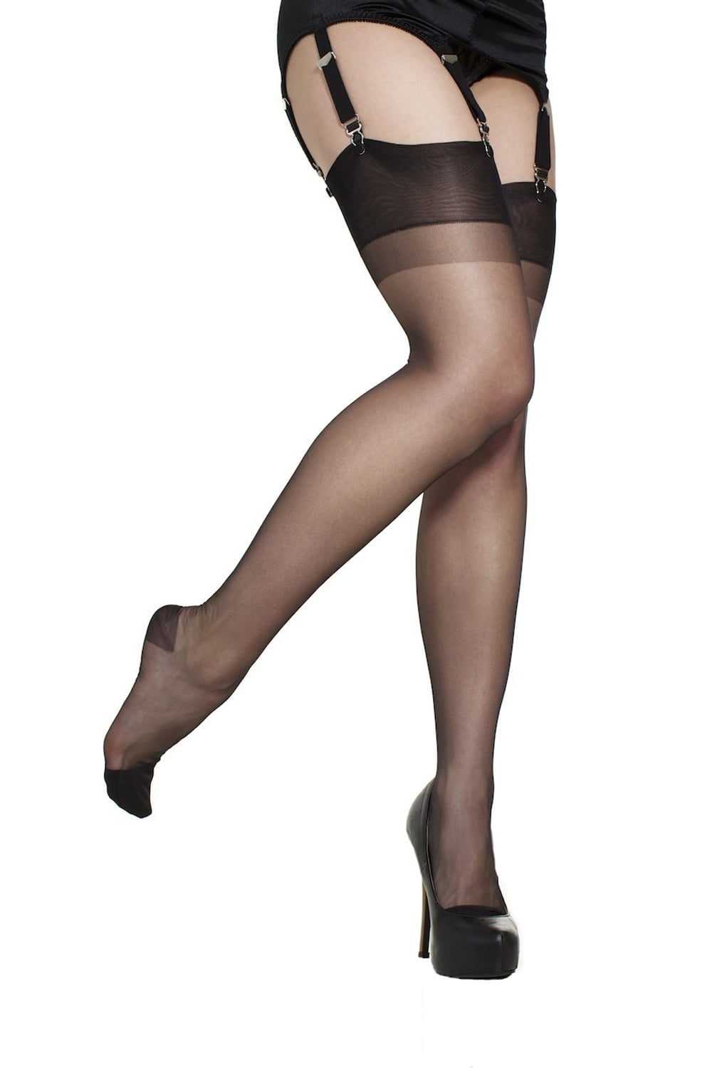 155d7cd8f Gio Reinforced Heel and Toe Stockings