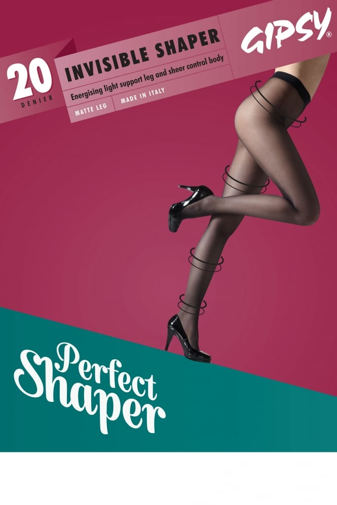 Gipsy 20 Denier Invisible Top Shaper Tights