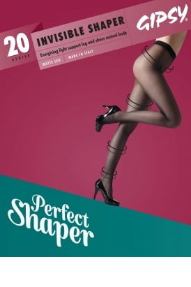 20 Denier Invisible Top Shaper Tights