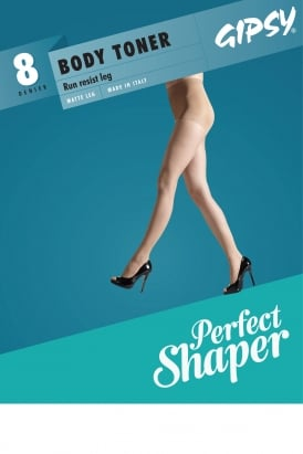 8 Denier Body Toner Shaper Tights