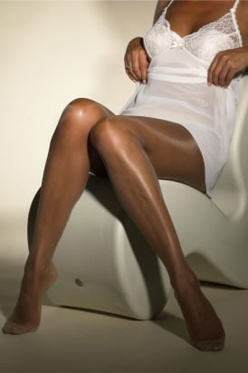 Fuller Figure Translucent Ultra Sheer Tights (GARNET BOX fits up to 54