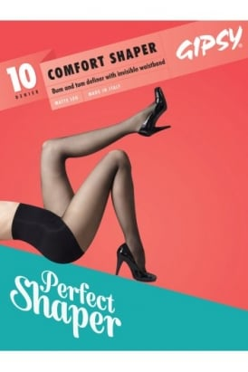 Invisible Comfort Waistband Shaper Tights