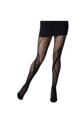 New Design Net Panel Tights
