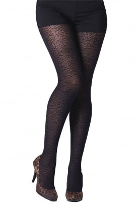 Shadow Flowers Tights