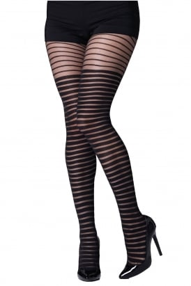 Shadow Stripe Tights