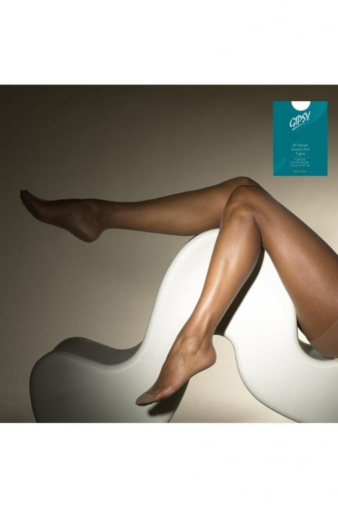 Gipsy Sheer Smooth Knit XL Tights (Green Box)