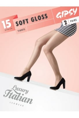 Soft Gloss Tights 2 Pair Pack