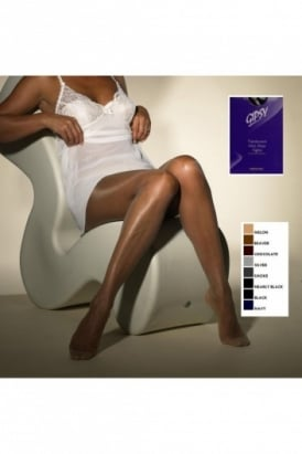 Translucent Ultra Sheer Tights (NAVY BOX)
