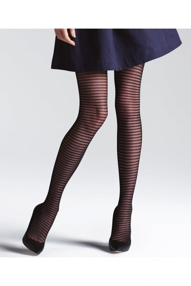 Jonathan Aston Climbers Striped Fashion Tights