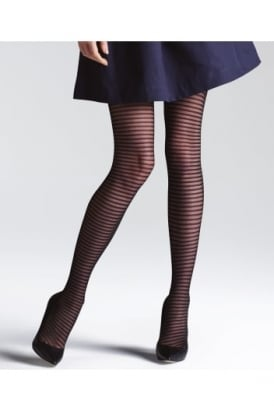Climbers Striped Fashion Tights