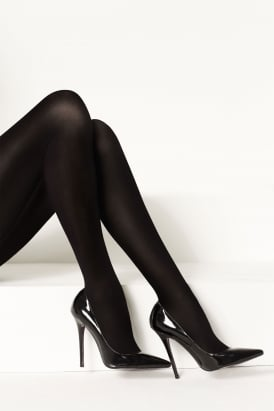 Luxe Legs Fine Wool 100 Denier Tights