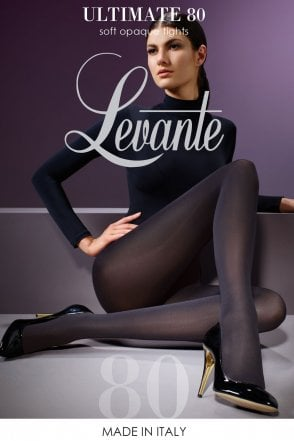 4ca1d2f6d89 Levante Suede Matte 50 Denier Soft Opaque Tights LAMT