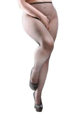 Fishnet Crotchless Tights