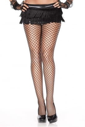 Mini Diamond Net Tights