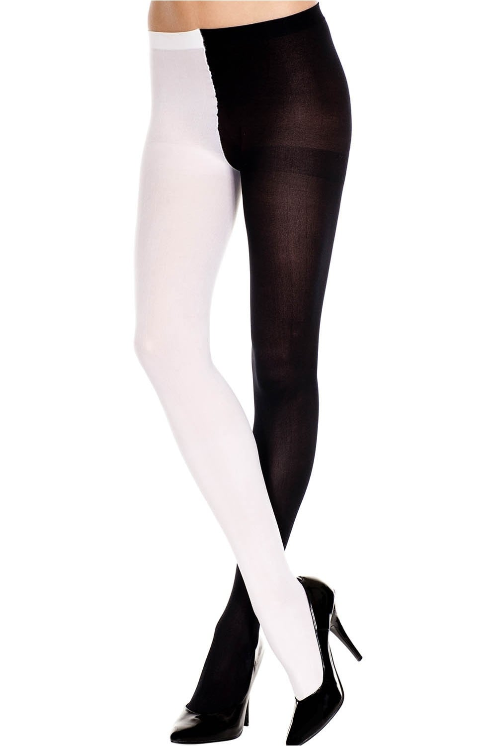 b44400f8a55df Music Legs Opaque Jester Tights
