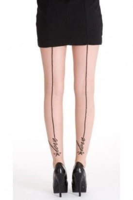 Signature Love Seam Tights