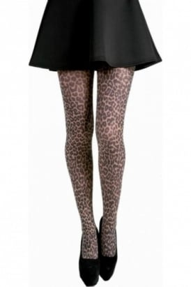 Small Leopard Print Tights