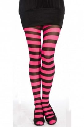 Twickers Striped Tights