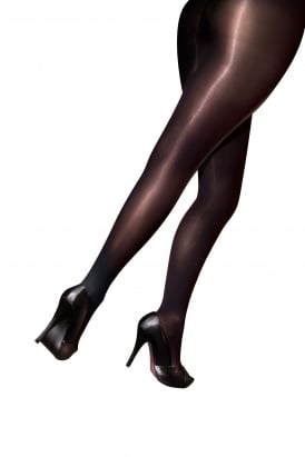 Curves 60 Denier Plush Opaque Tights