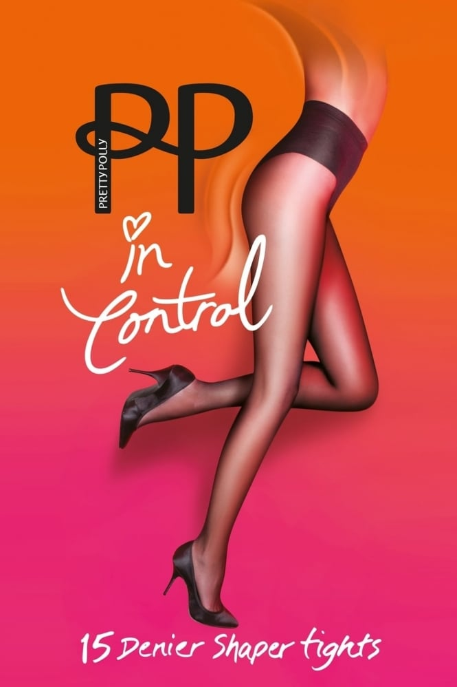 Pretty Polly In Control 15 Denier High Leg Shaper Tights