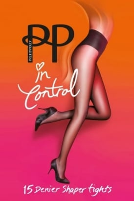 In Control 15 Denier High Leg Shaper Tights
